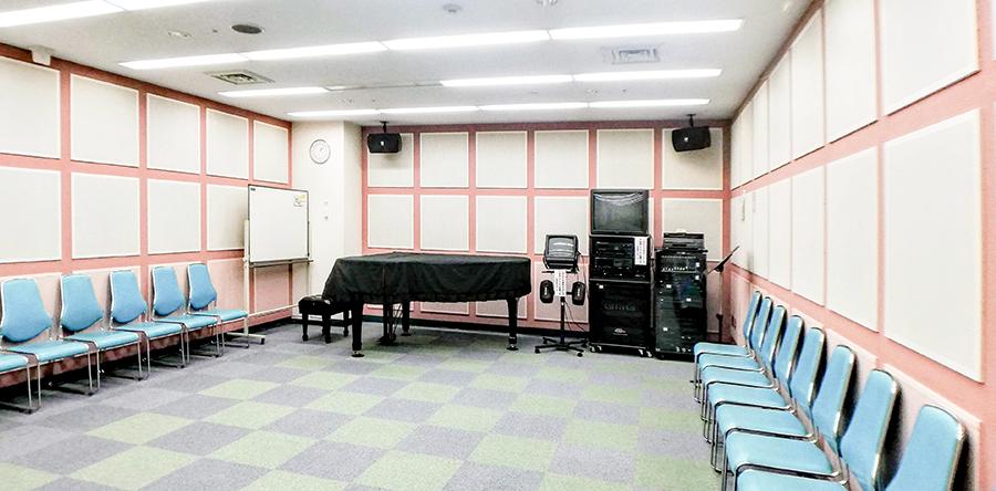 東大阪市リージョンセンター 夢広場 : 音楽室