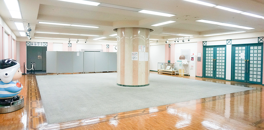東大阪市リージョンセンター 夢広場 : ホール