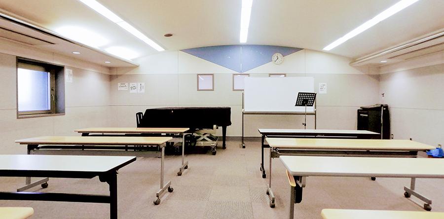 東大阪市リージョンセンター ゆうゆうプラザ : 音楽室