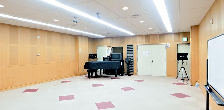 東大阪市リージョンセンター ももの広場 : 音楽室