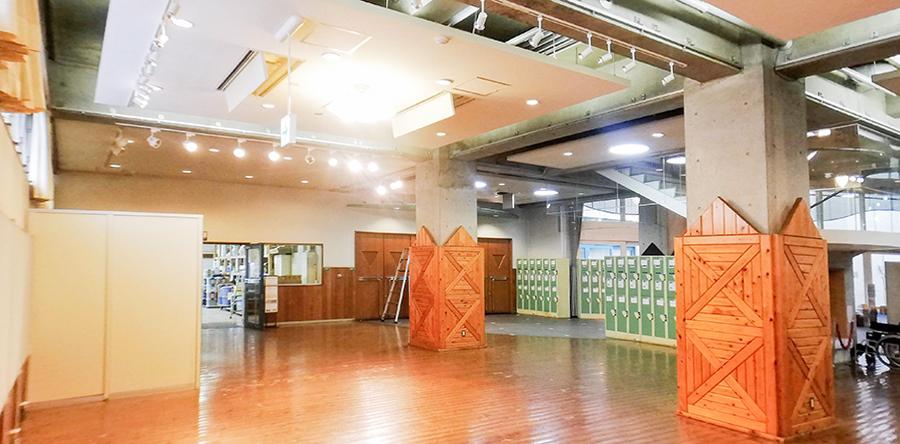 東大阪市リージョンセンター グリーンパル : ホール・ロビー