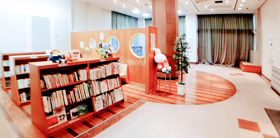 東大阪市リージョンセンター はすの広場 : 図書コーナー