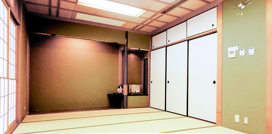 東大阪市リージョンセンター はすの広場 : 和室