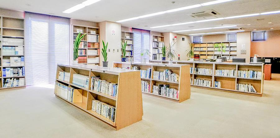 東大阪市リージョンセンター ゆうゆうプラザ : 図書文化フロア